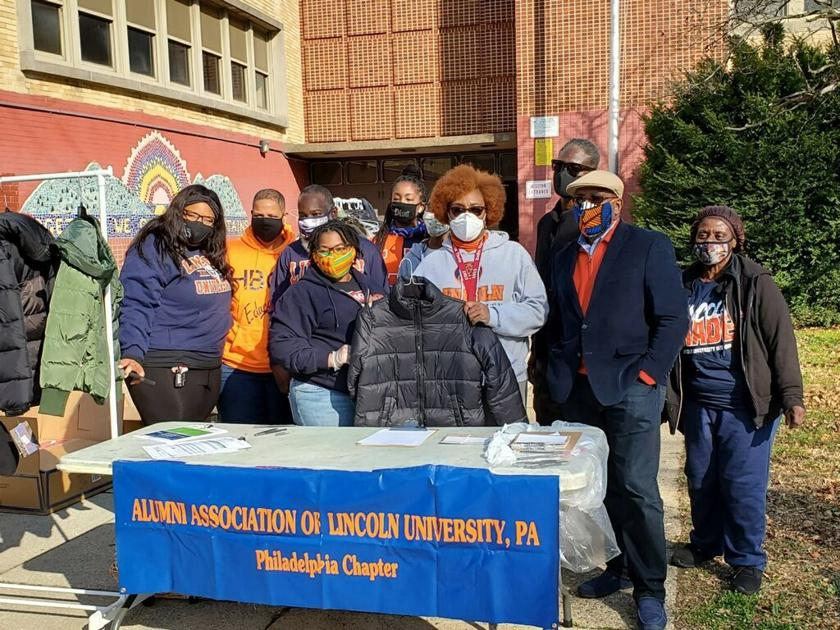 Lincoln alumni chapter holds successful coat drive