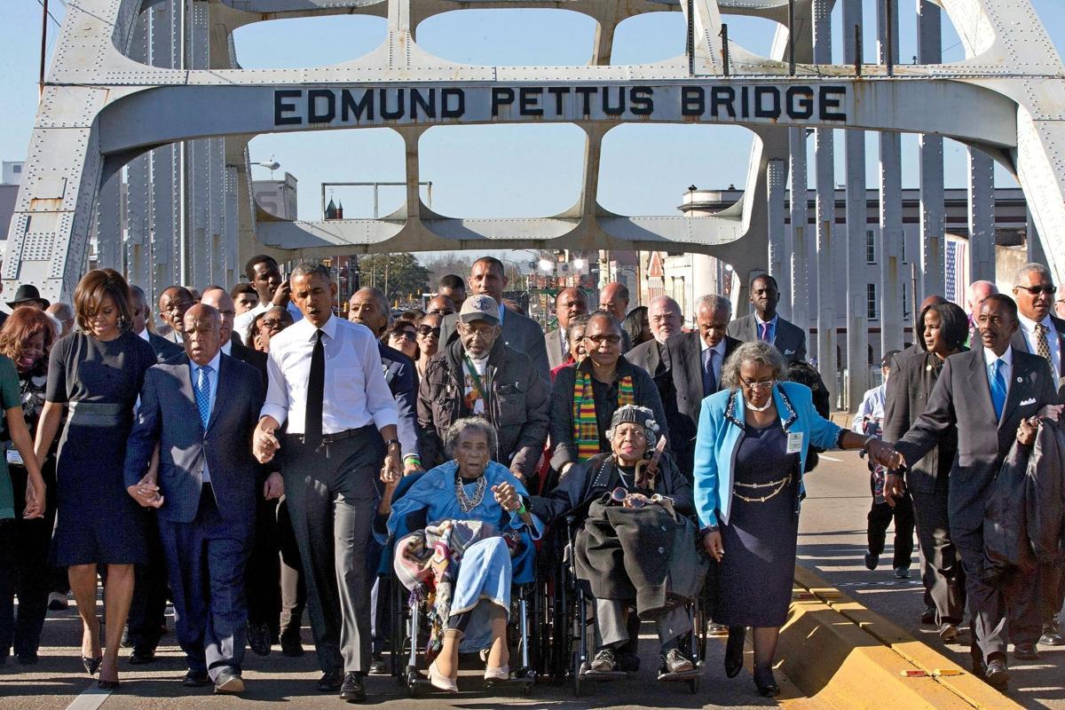 Racial Injustice Selma Bridge