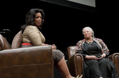Oprah Winfrey and Toni Morrison