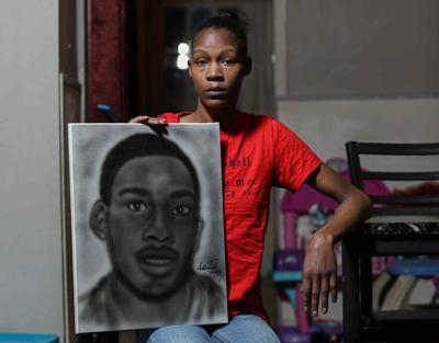Keandra McDole, the sister of Jeremy McDole, a wheelchair bound man who was shot to death by police