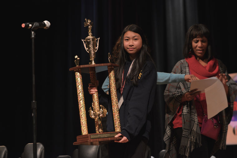 Students compete to win 21st annual spelling bee