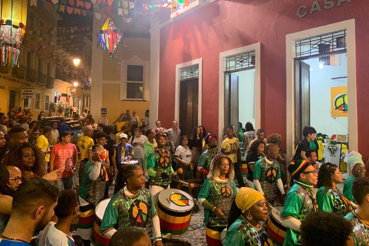 Music in Salvador, Brazil