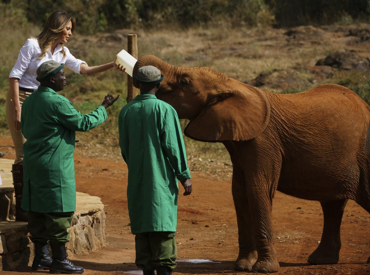 Melania Trump in Kenya