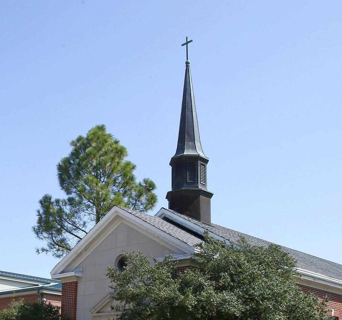 Chapel cross stirs up controversy in small oklahoma college town chu chapel092917 01 altavistaventures Images