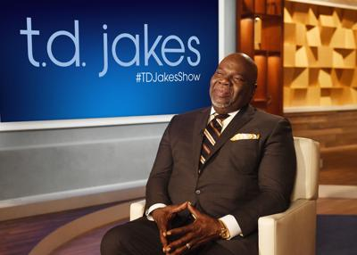 T D  Jakes to tackle headlines in new talk show on OWN