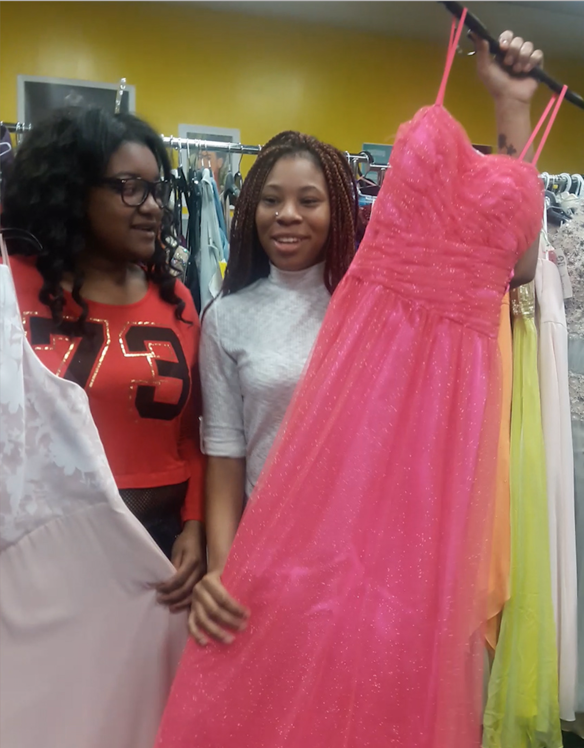 The Empowerment Zone offers affordable prom dresses to local teens ...