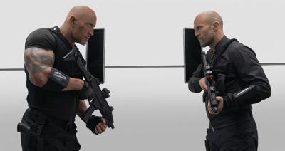 Fast & Furious Presents: Hobbs & Shaw - Dwayne Johnson and Jason Stratham