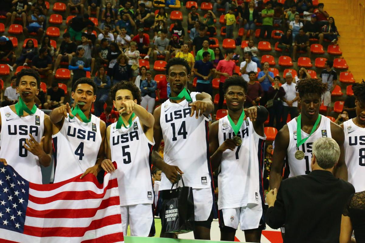 U16 team wins gold medal