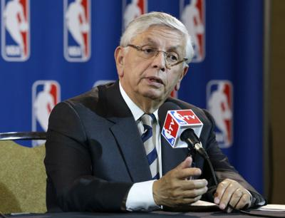 In this May 15, 2013 file photo, NBA Commissioner David Stern takes a question from a reporter during a news conference following an NBA Board of Governors meeting in Dallas. Stern, who spent 30 years as the NBA's longest-serving commissioner and oversaw its growth into a global power, died on New Year's Day, Wednesday, Jan. 1, 2020. He was 77. — AP Photo/Tony Gutierrez, File