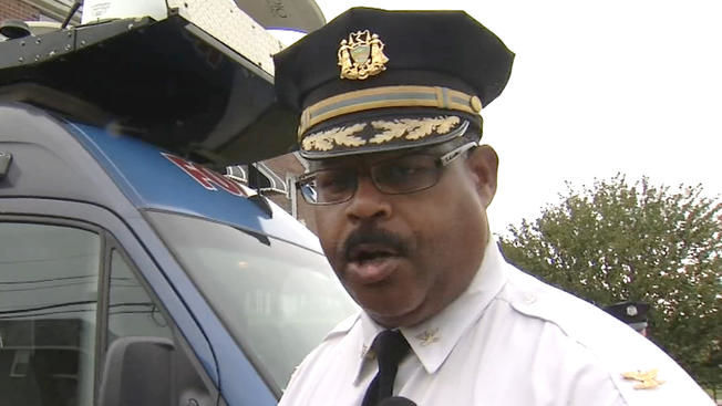 Philadelphia Police Chief Inspector Carl Holmes