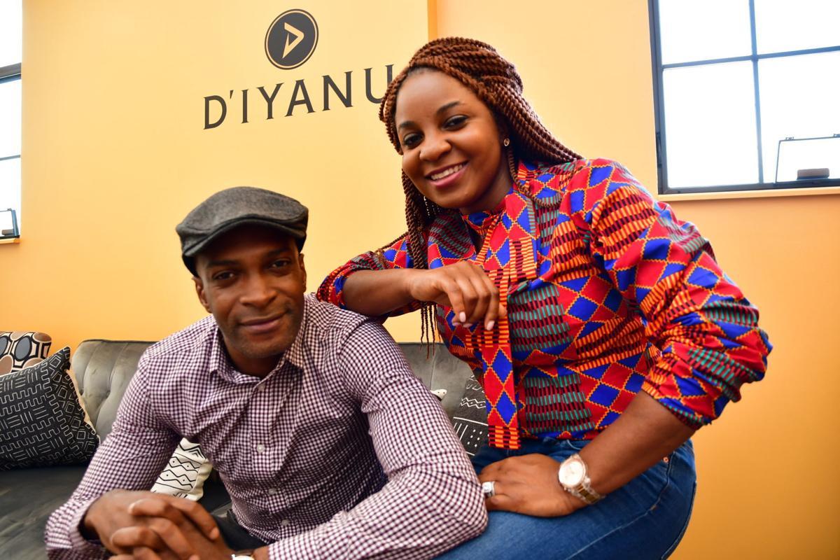 DIYANU'S CEO Addie Elabor and Dara Ajayi