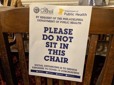 Social Distancing at City Council