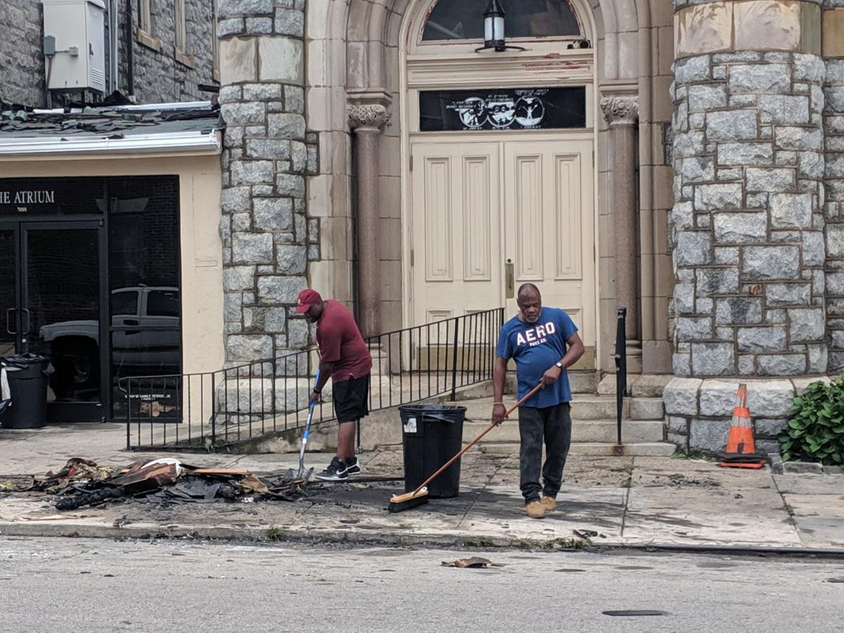 Cleanup after fire