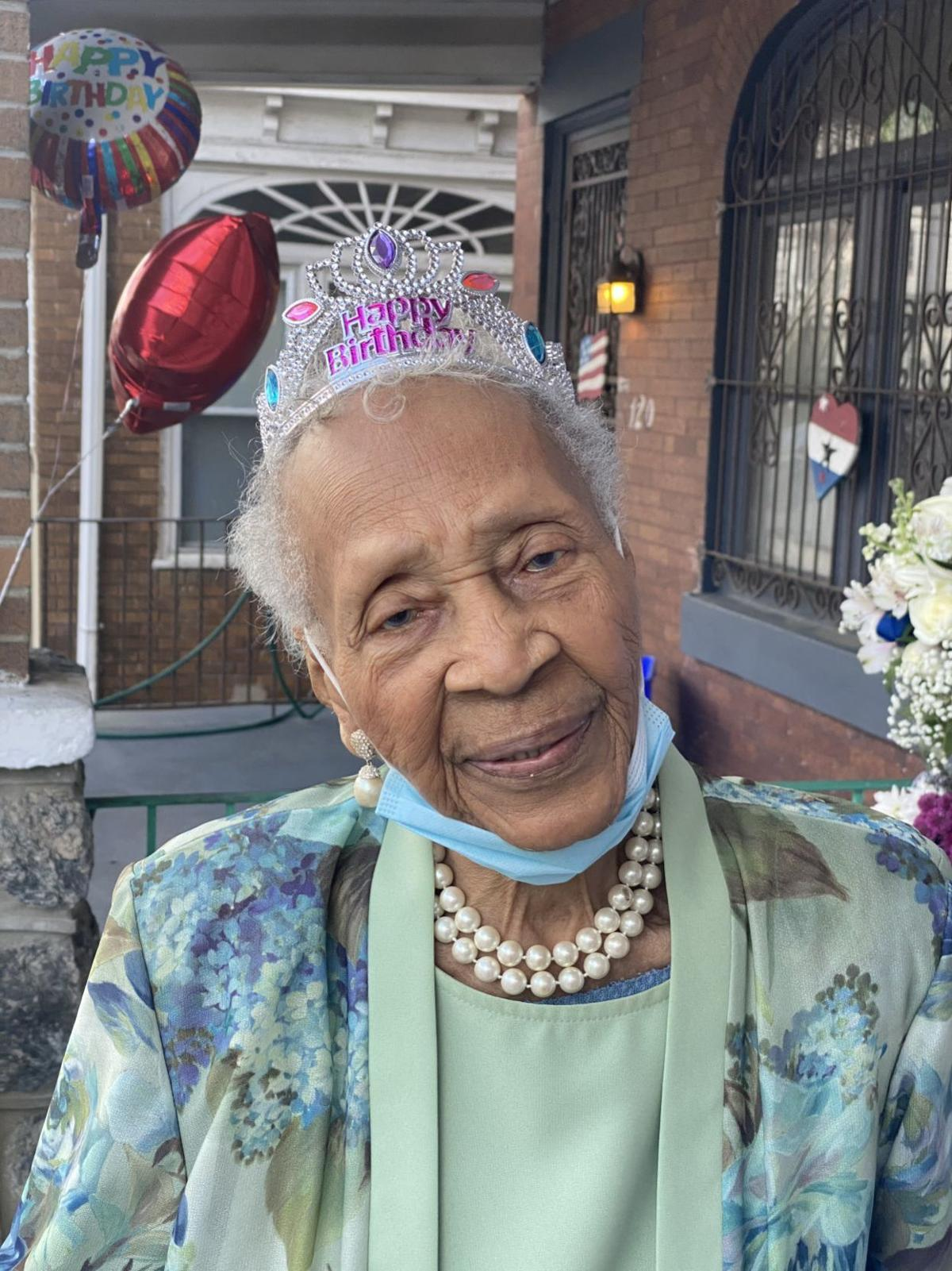 Mary K. Rhodes, 100th birthday