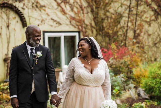 A Wedding Story: Cheryl Lynn Campbell and Olan Bryant Garrett