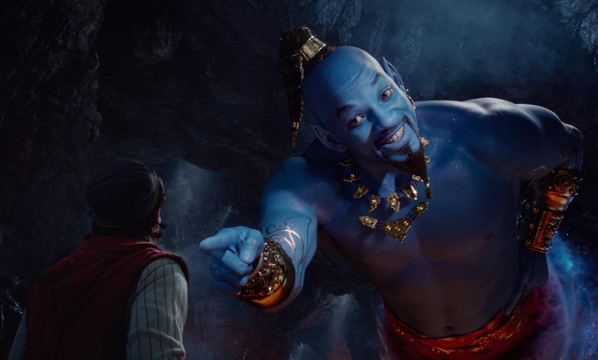 Film Aladdin - Will Smith and Mena Massoud
