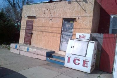 The ice man helped us to keep our cool