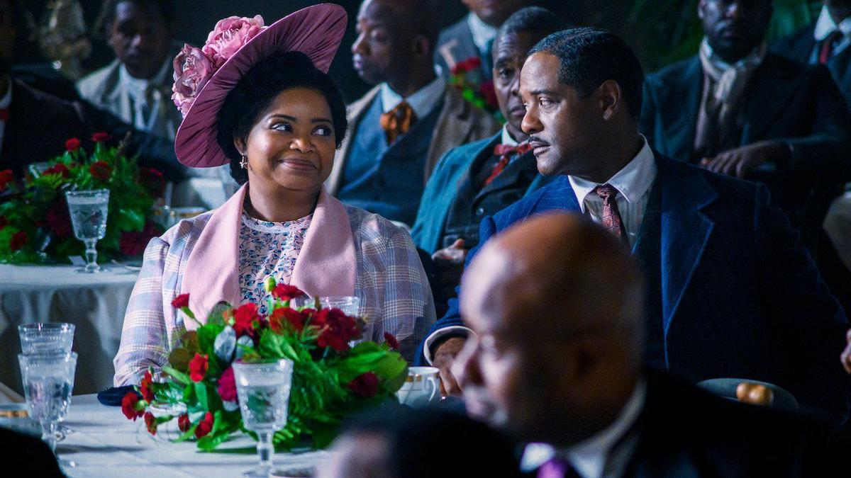 "Octavia Spencer and  Blair Underwood in   ""Self Mad."""