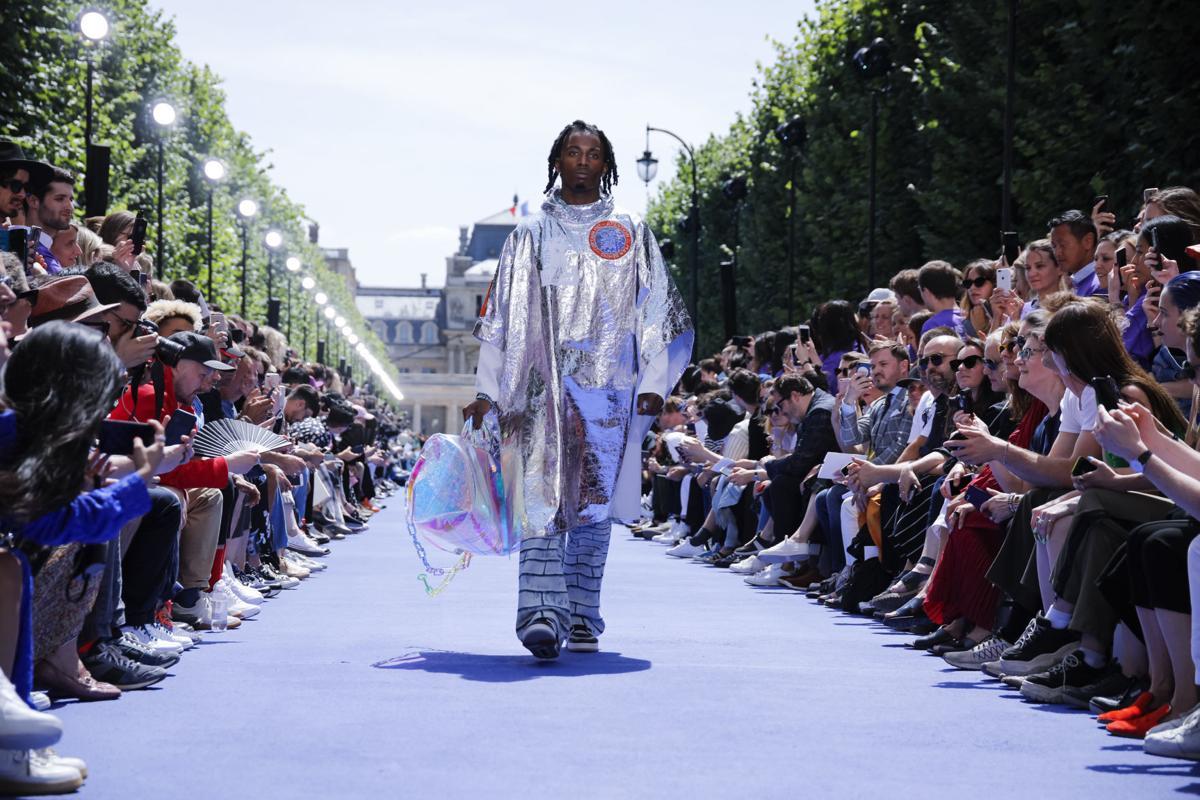 Louis Vuitton space fashion