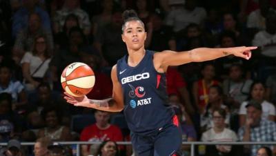 Philly native Natasha Cloud was a big reason why the Washington Mystics had the best record in the WNBA. — PHOTO COURTESY OF WASHINGTON MYSTICS