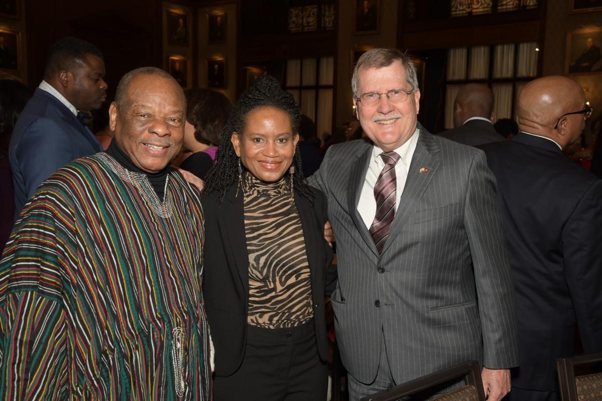 Molefi Asante, Ana Asante and Richard Englert