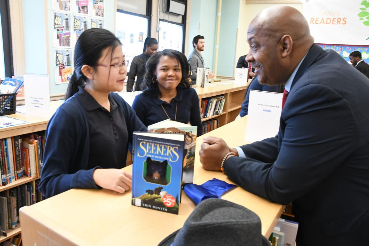 Bache Martin Elementary School Opens New Library News
