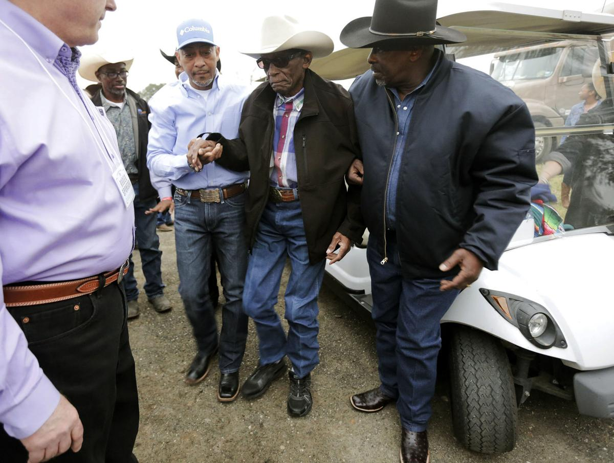 a450cd6e Black cowboys honored at Houston-area rodeo, skills praised   Across ...