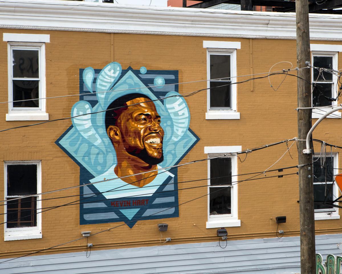 Kevin Hart mural