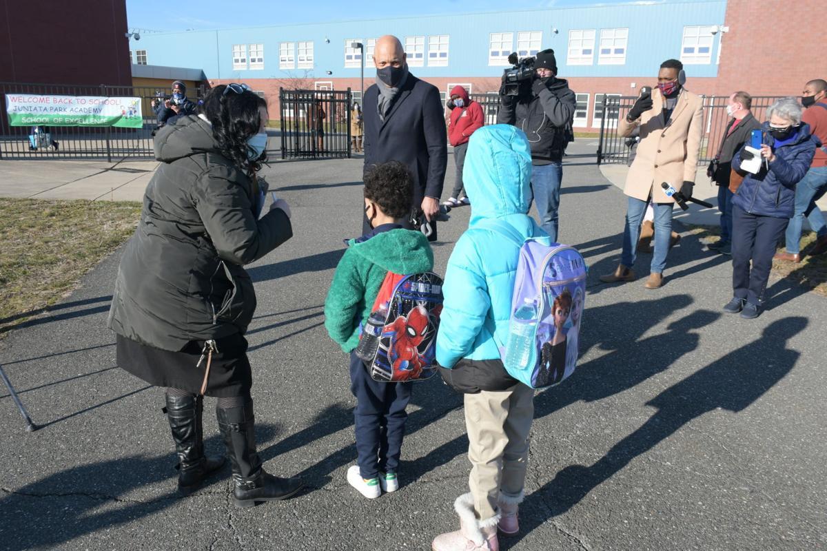 Philadelphia schools reopening - Hite