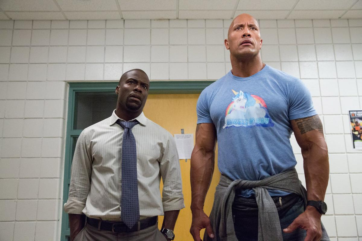 Dwayne Johnson in 'Central Intelligence'