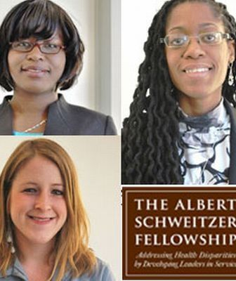 Three Drexel med students named Schweitzer fellows