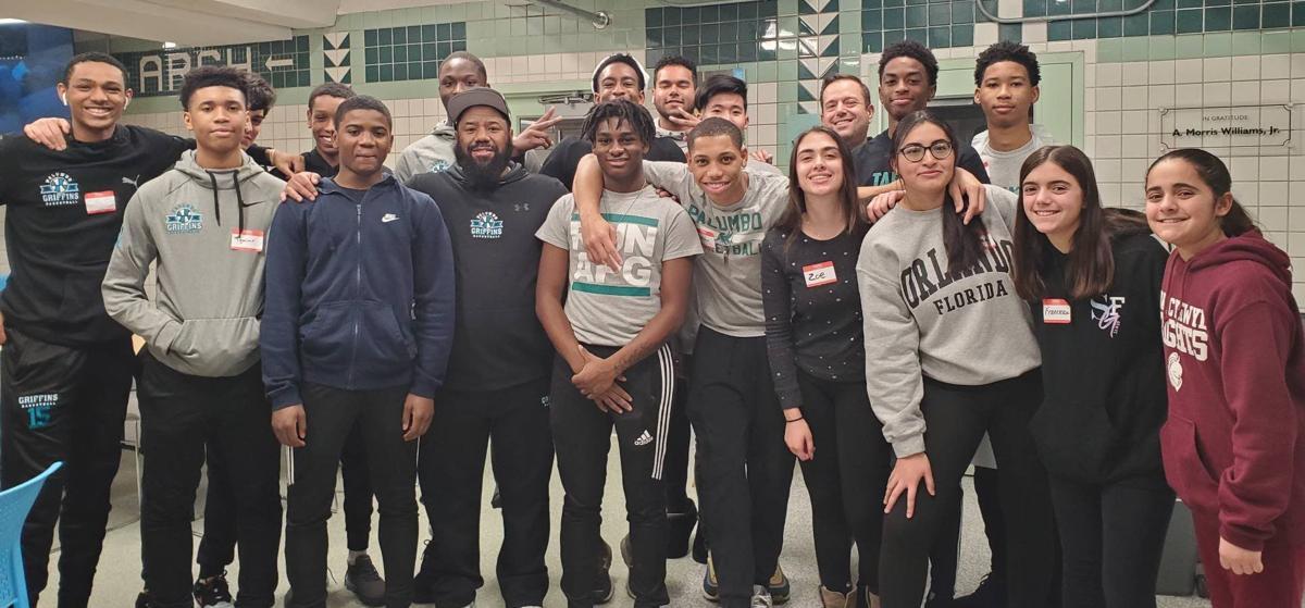 Palumbo basketball team