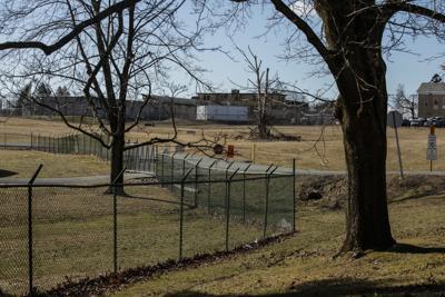 Outside Edna Mahan Correctional Facility for Women