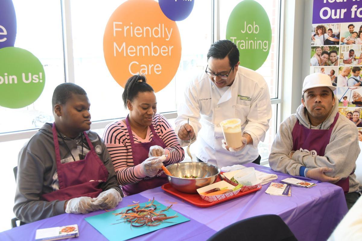 Cooking class at HPP Community Wellness Center
