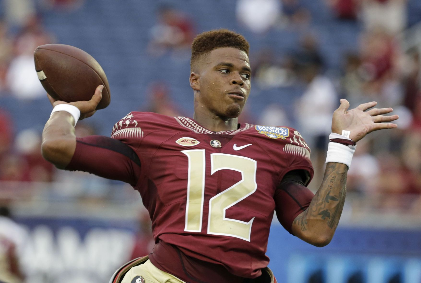 Seminoles lose to Alabama as Francois leaves with injury