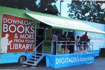 'Digital Bookmobile' bridges information gap