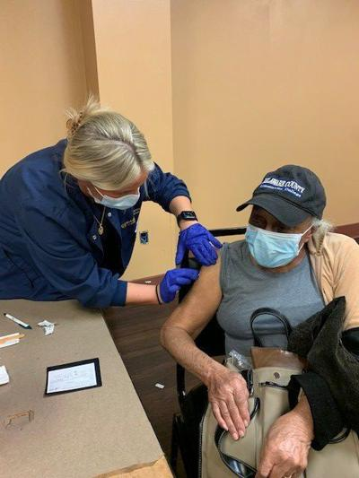 Chester resident, 92, vaccinated