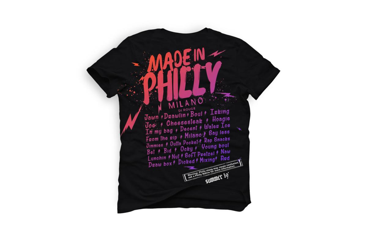 Milano di Rouge's Made in Philly T-shirt
