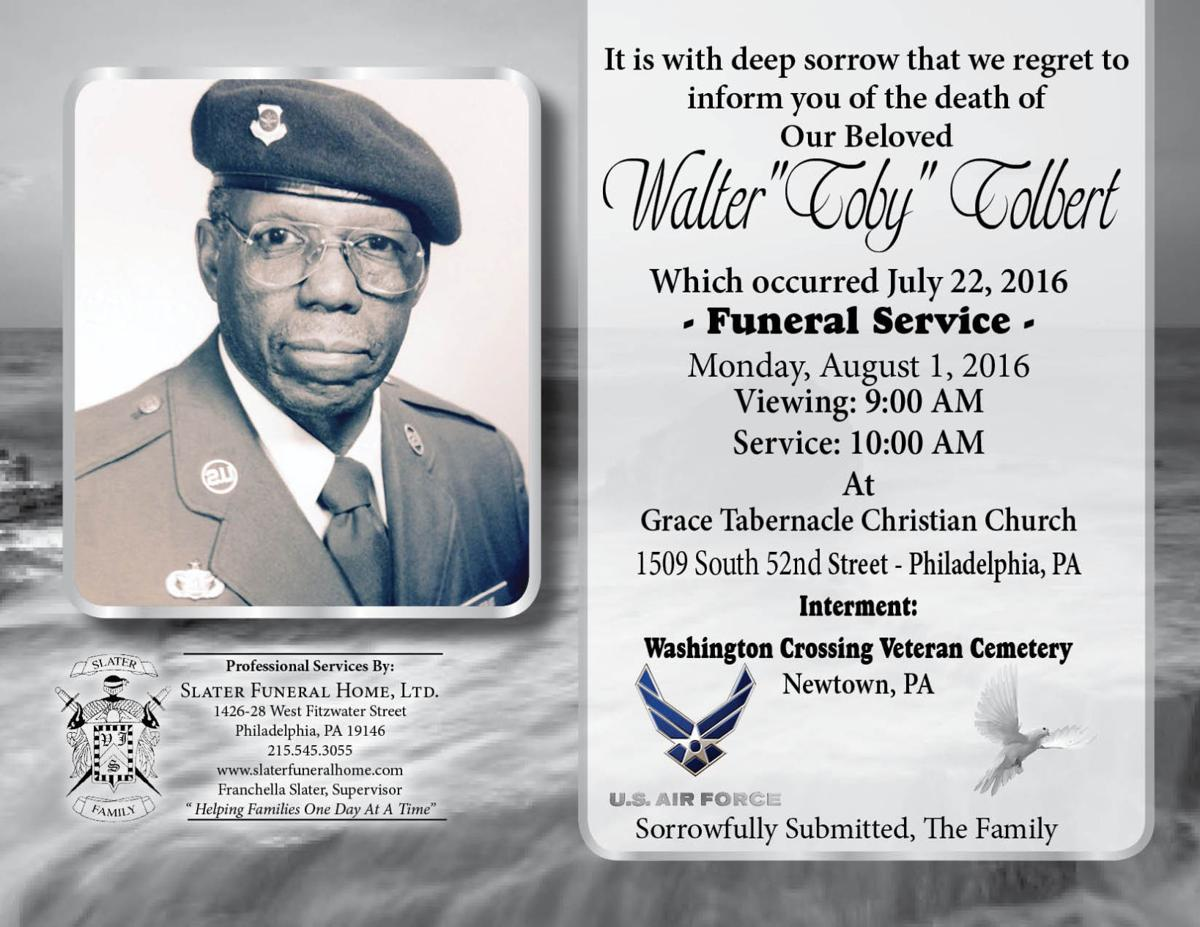 Walter P. Tolbert, 86, retired postal police officer | Obituaries ...