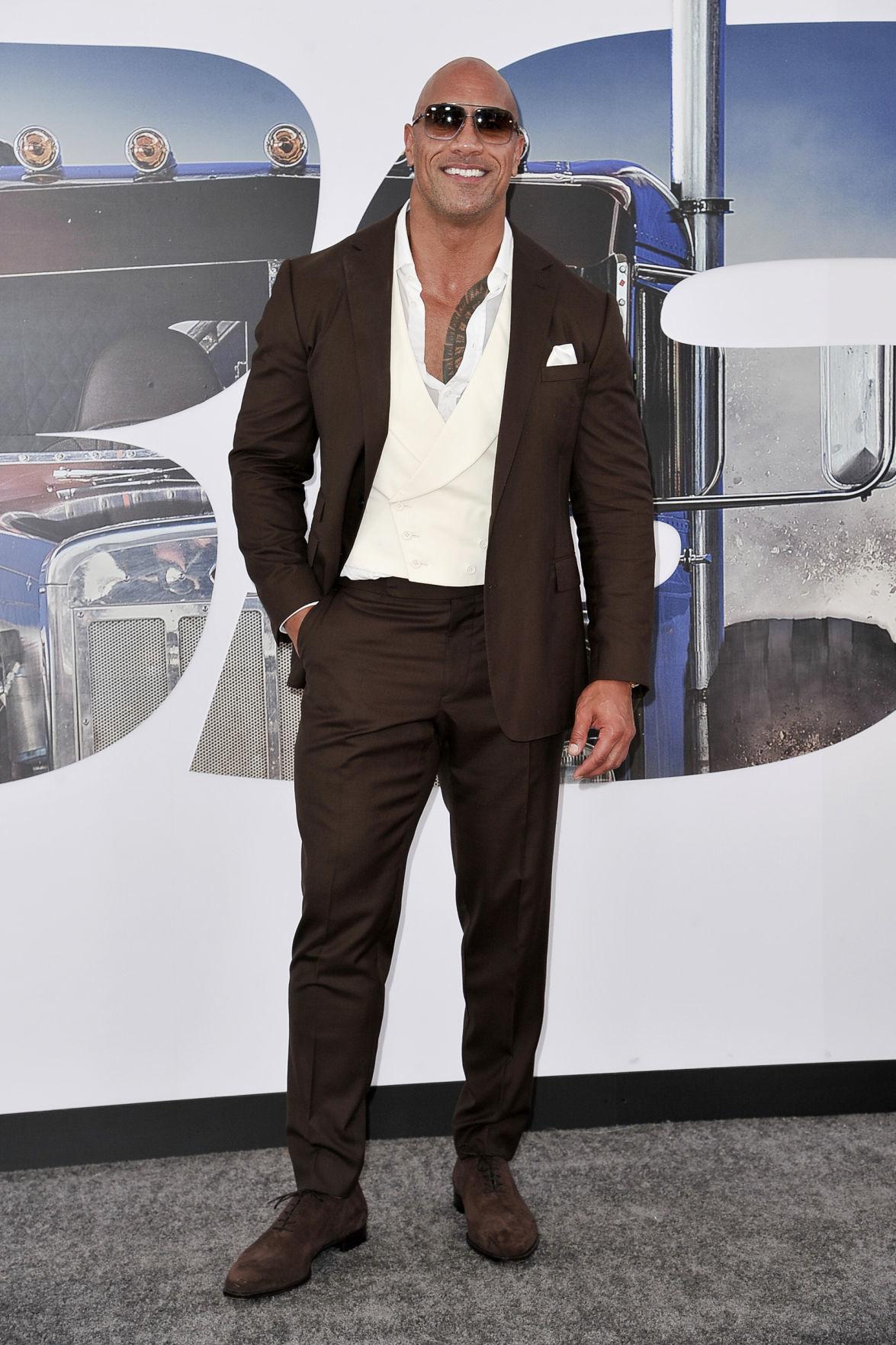 "LA Premiere of ""Fast & Furious Presents: Hobbs & Shaw"" - Dwayne Johnson"