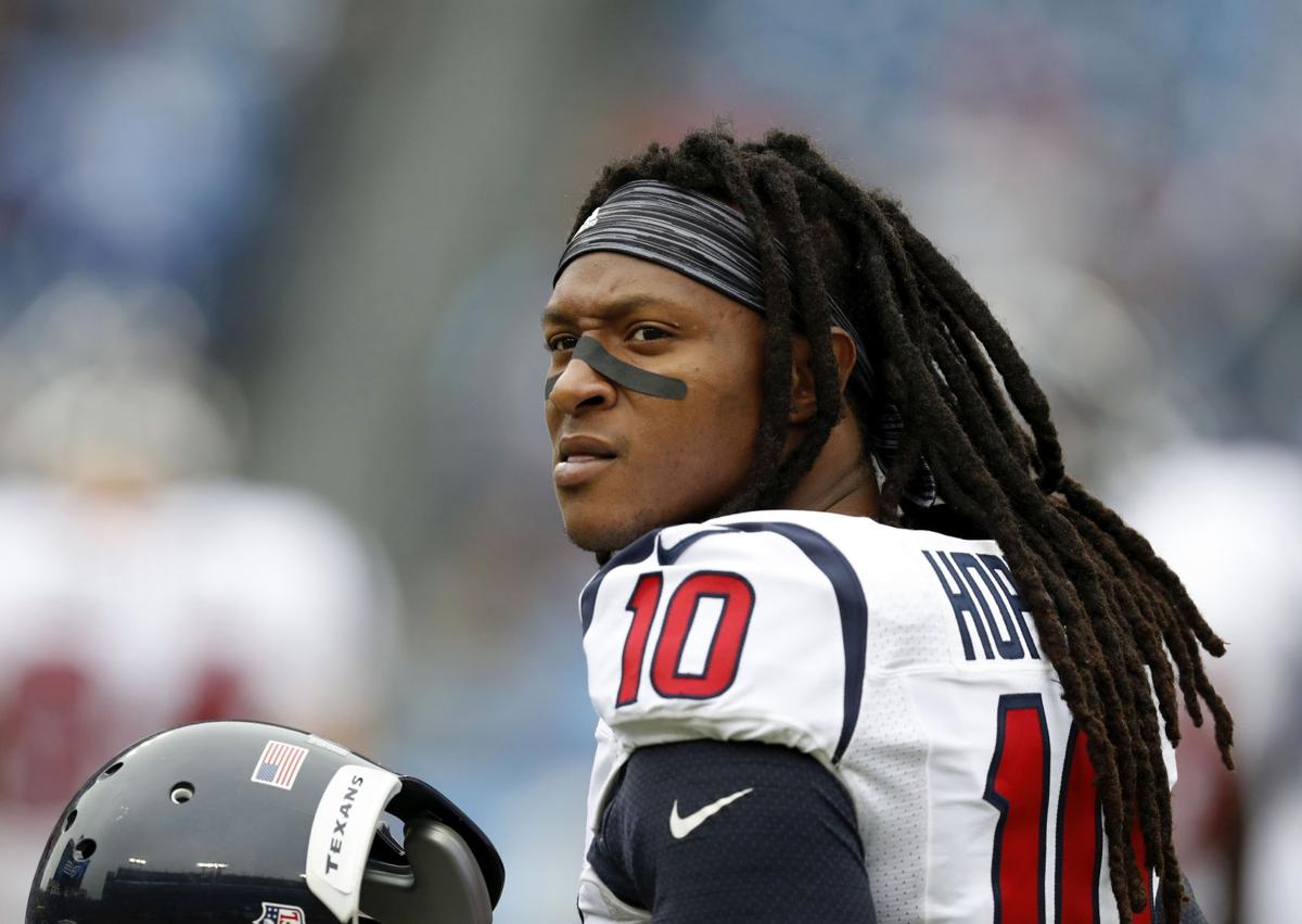 DeAndre Hopkins agrees to 5 year extension with Texans