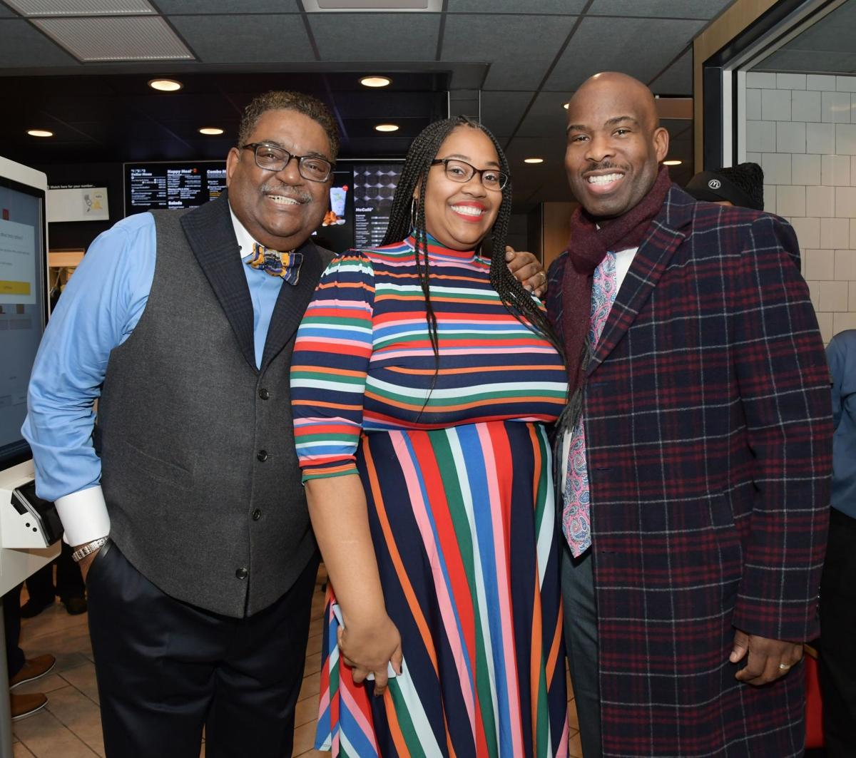 Dawkins reopen McDonald's with a community flavor
