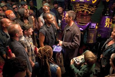 Anthony Mackie has a blast with 'Real Steel'
