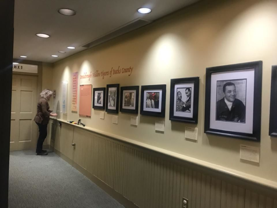 AAMBC exhibit at the Pearl S. Buck House