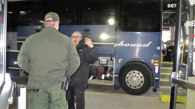 Border Patrol Bus Check