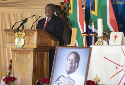 South Africa Zulu King Zwelithini Memorial