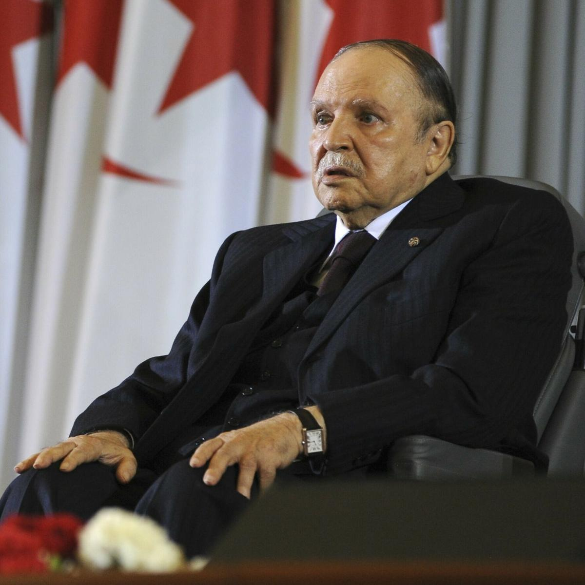 Algeria's Leader, Ceding To Protests, Will Quit By April