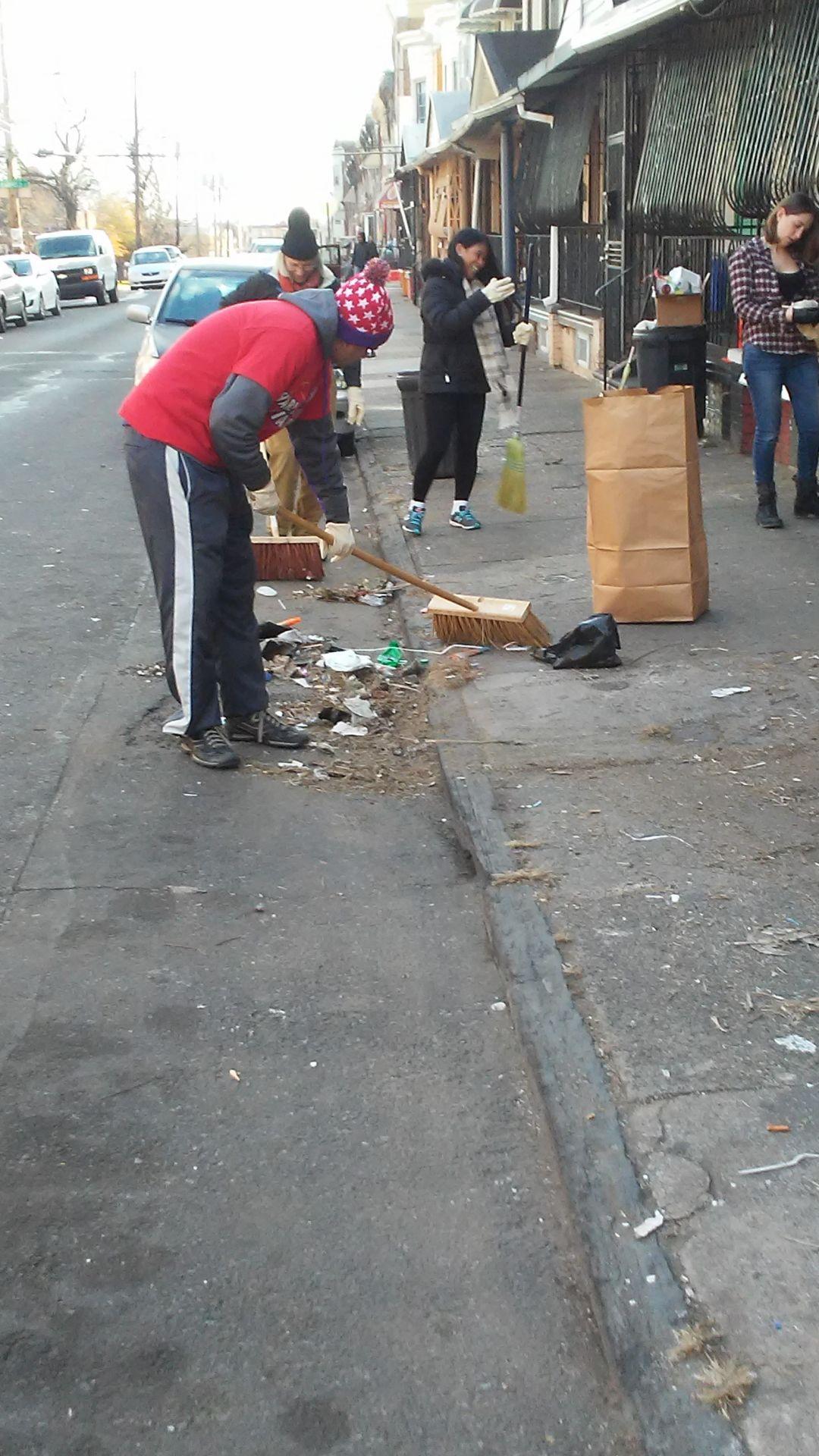 N.Y.C. Election Volunteers Return To Clean Streets