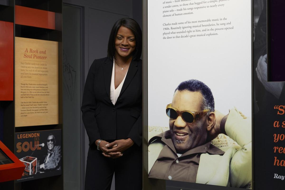 Valerie Ervin is president of The Ray Charles Foundation. — PHOTOS/LOS ANGELES SENTINEL