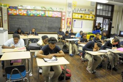 Smith Elementary strives to rise above circumstances